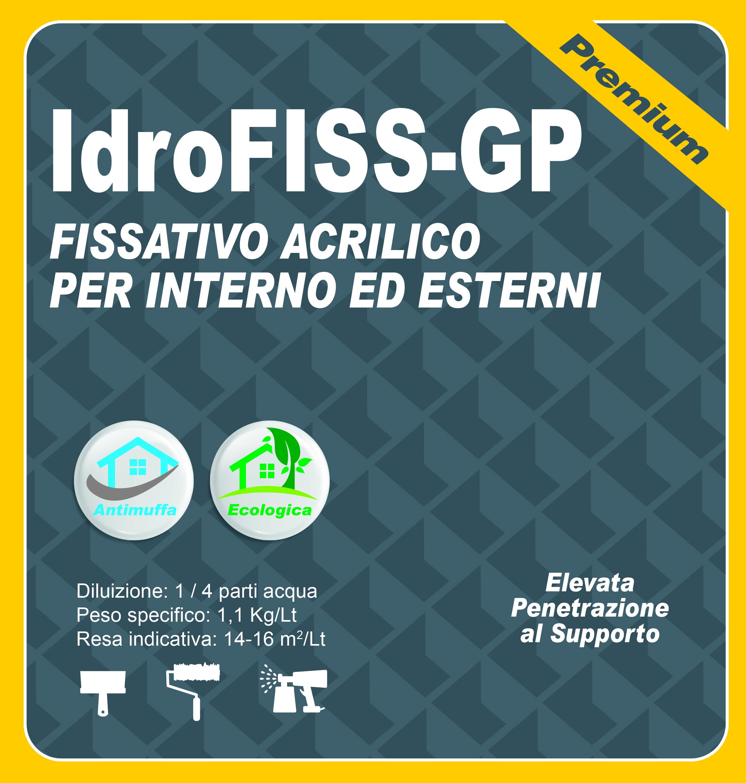 FISSATIVO ACRILICO INT. PREMIUM - IdroFISS-GP - 5 LT