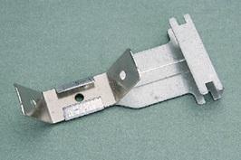 GANCIO CON MOLLA 27/50 mm B.ARR. SP. 0,8 mm (Conf. Pz 100)