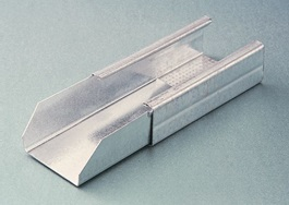 GIUNTO LINEARE mm 27 / 50 SP. 0,5 mm (Conf. Pz 100)