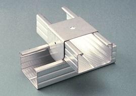 CAVALIERE DOPPIA ORDITURA A INCROCIO A 6 mm 27 / 50 B.ARR. SP. 0,8 mm (Conf. Pz 100)