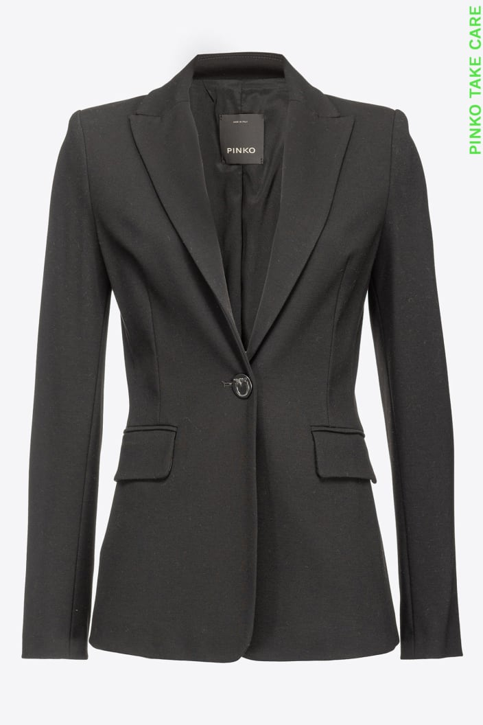 SHOPPING ON LINE PINKO  BLAZER IN PUNTO STOFFA SIGNUM 13 NEW COLLECTION WOMEN'S FALL/WINTER 2022