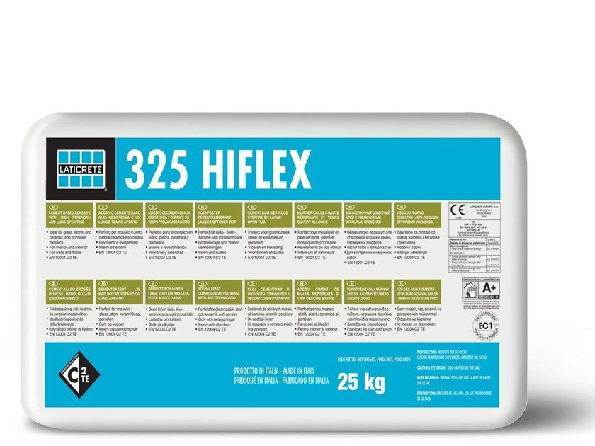 ADESICO CEMENTIZIO - 325 HIFLEX GREY C2TE 25 KG