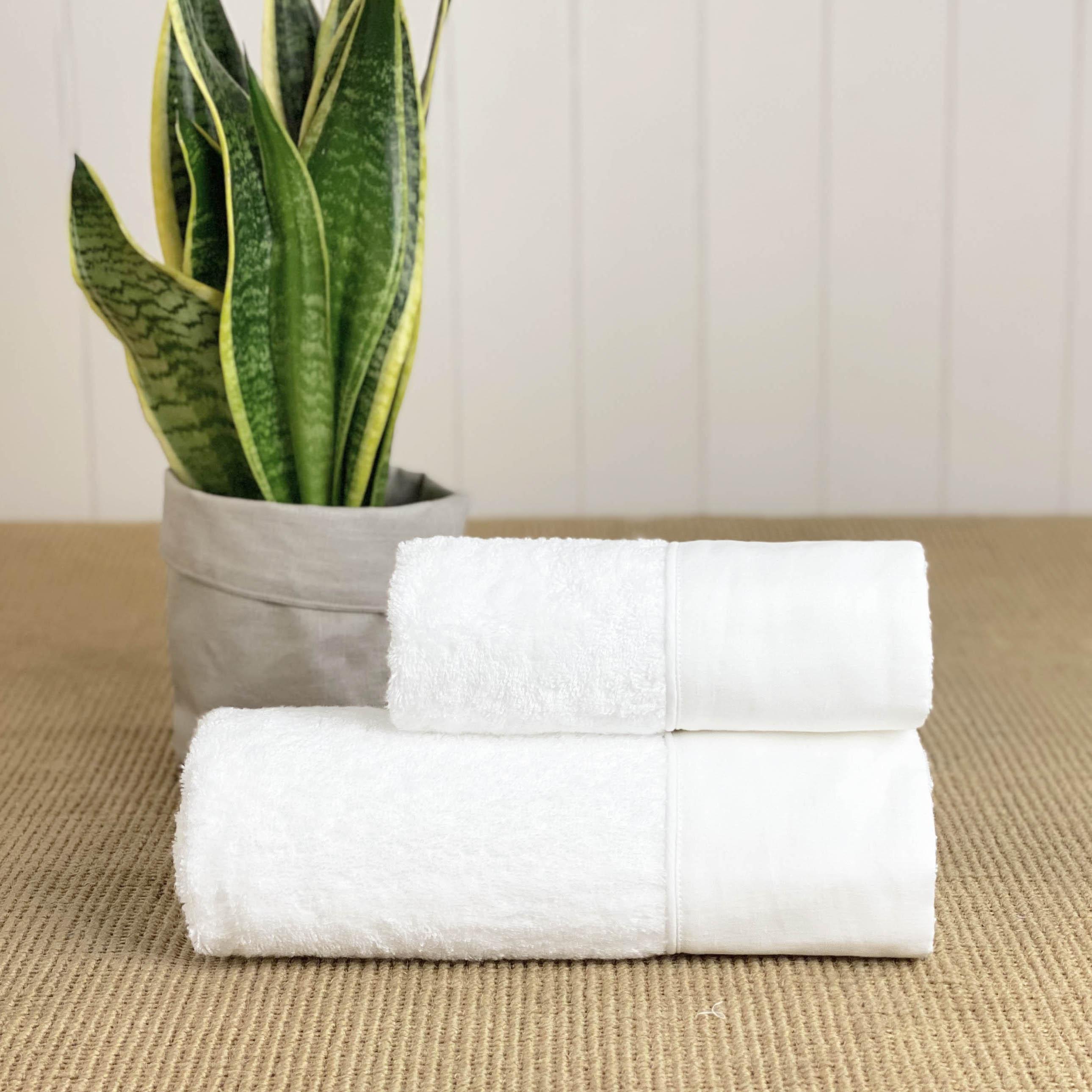 Coppia di Asciugamani Saint Tropez - Personalizzabile