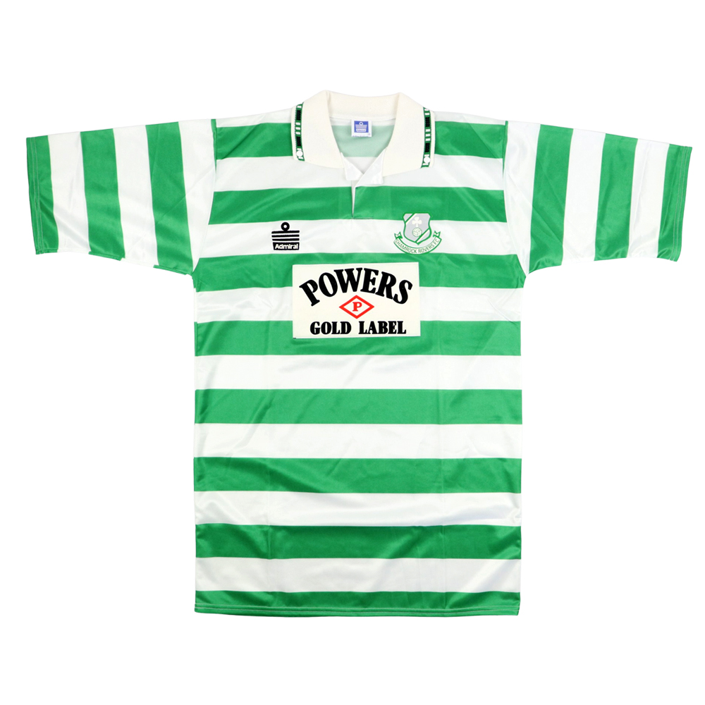 1992-93 Shamrock Rovers Maglia Home M (Top)