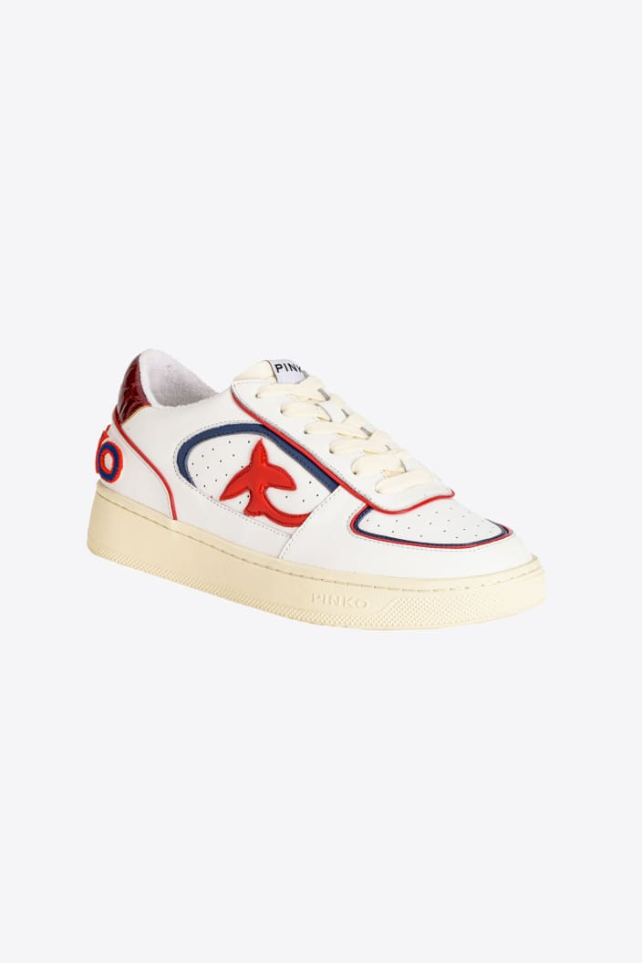SHOPPING ON LINE PINKO  BASKET SNEAKERS COLOR BOOOK NEW COLLECTION WOMEN'S FALL/WINTER 202
