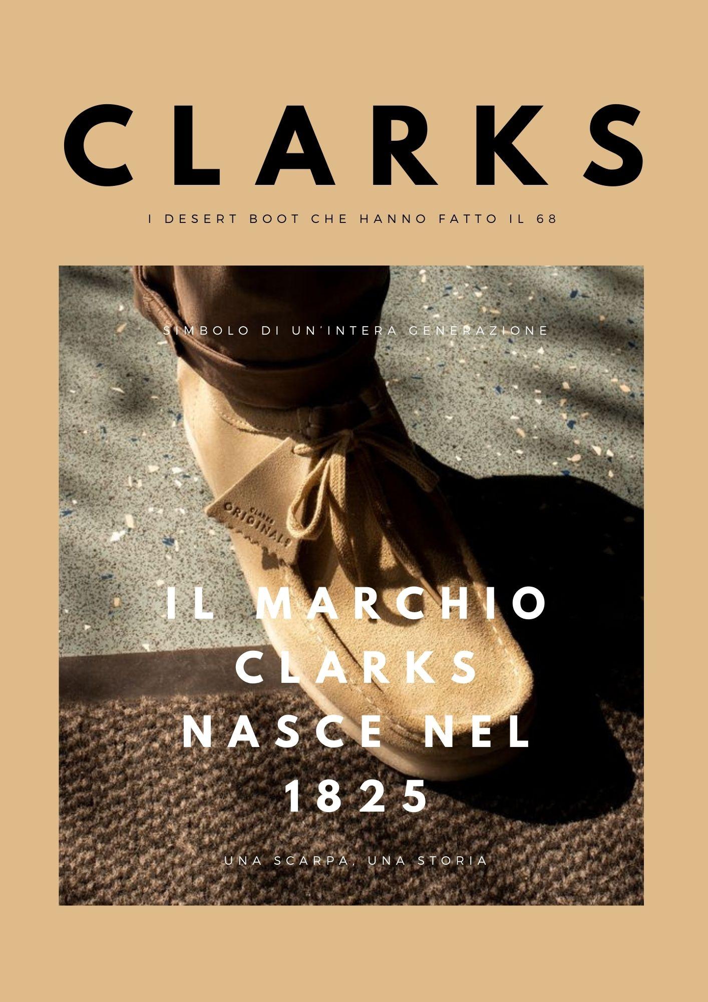 Scopri la nuova collezione Clarks