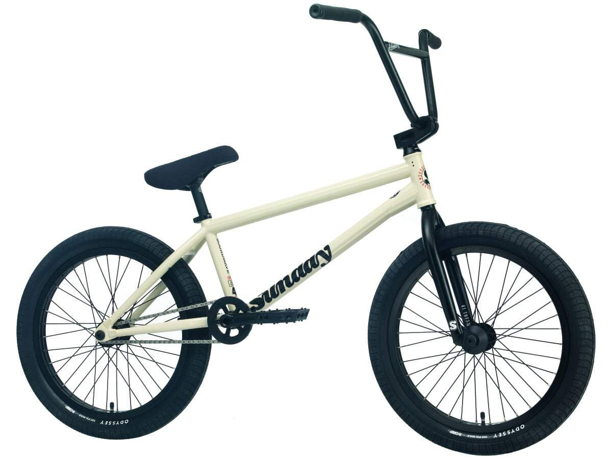 Sunday Soundwave Young Freecoaster 2022 Bici Bmx Completa | White LHD/RHD