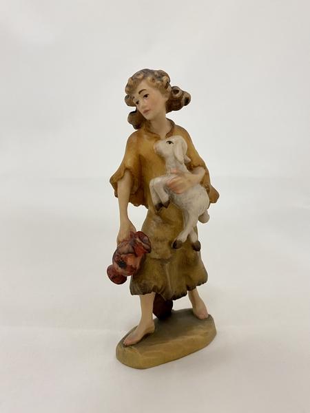 Pastorello con agnello  Fiorentino  cm.12,5