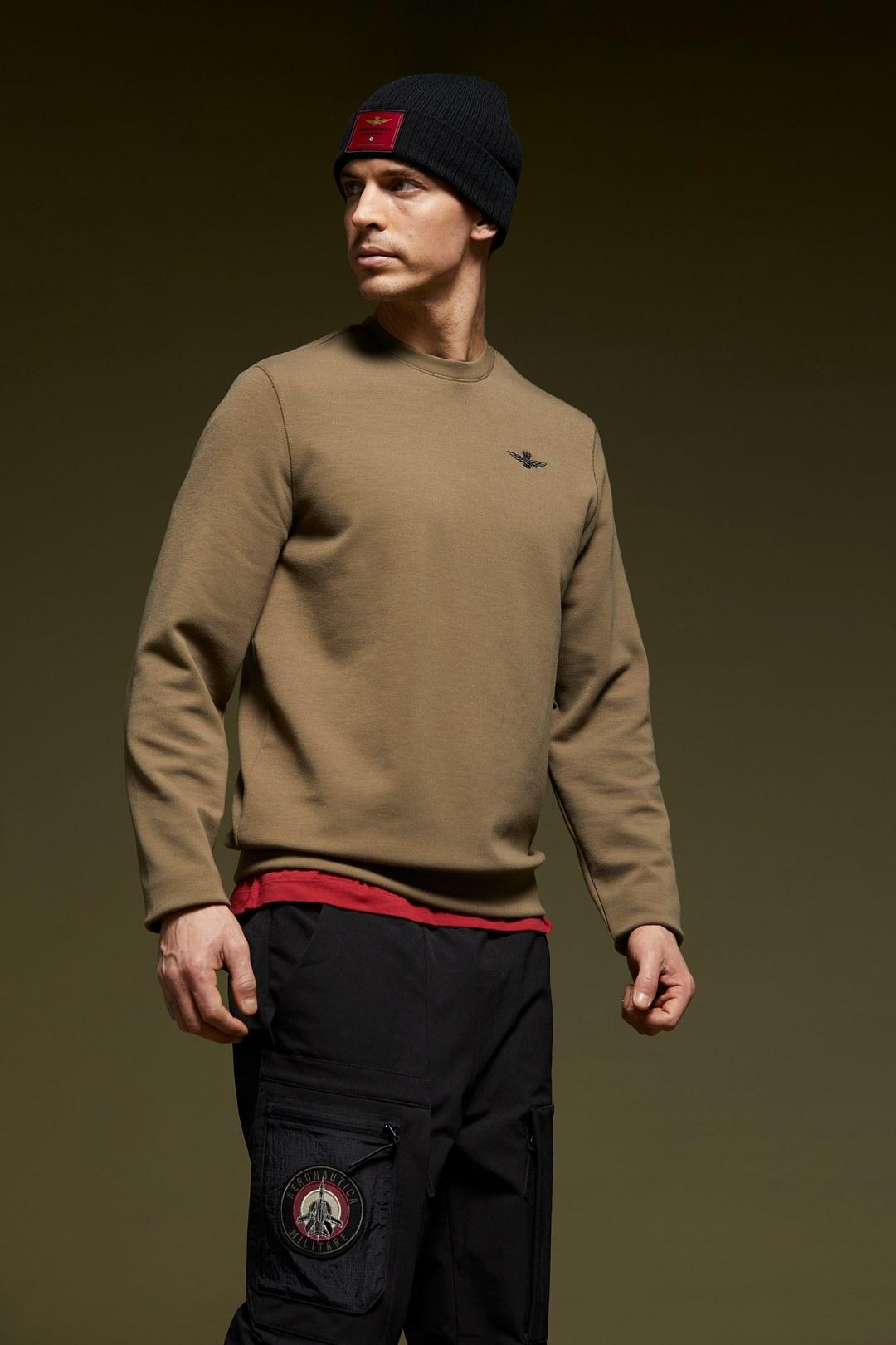 Sweatshirt aus Interlock                 4