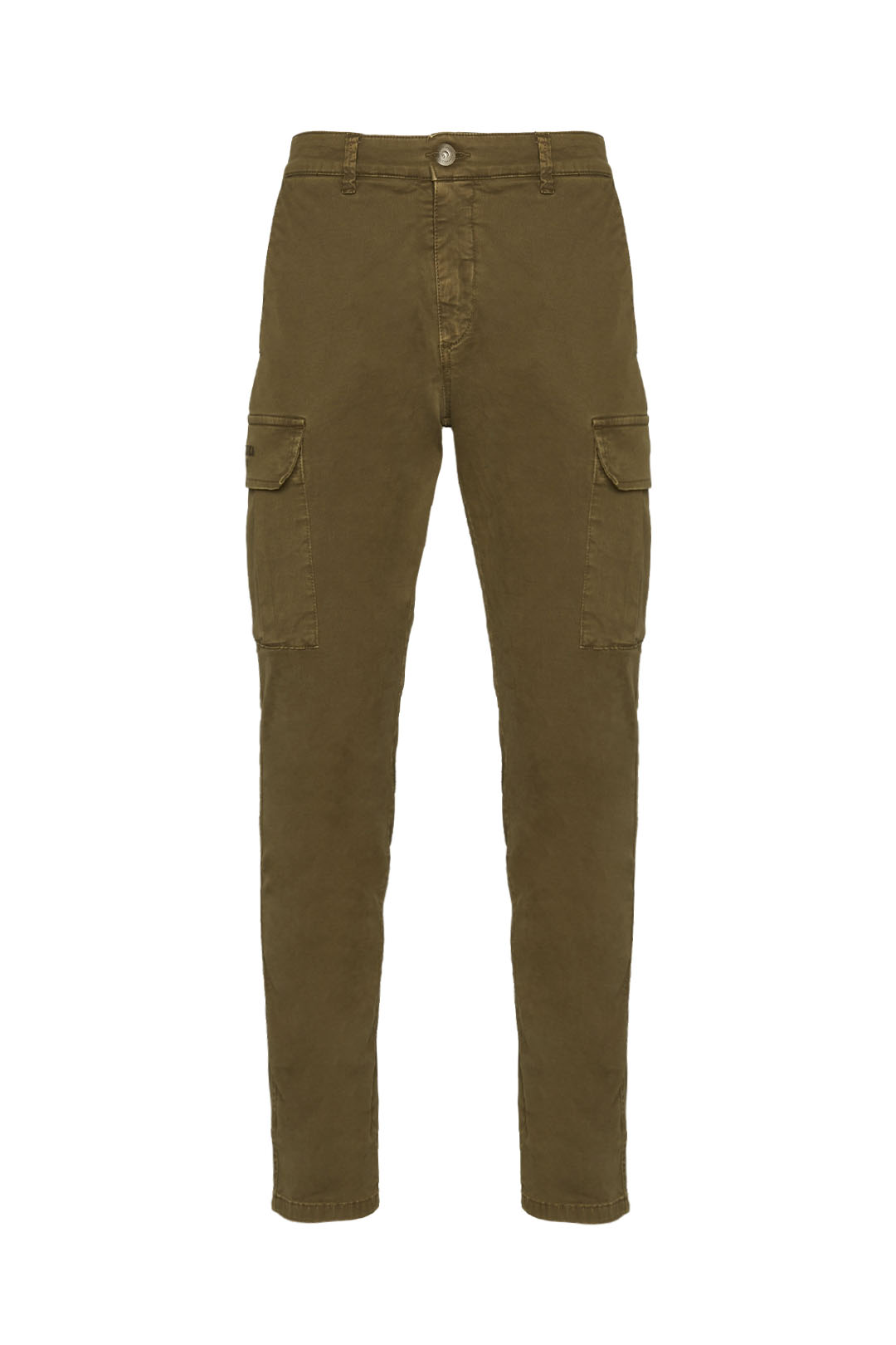 Gabardine multi-pockets trousers         1