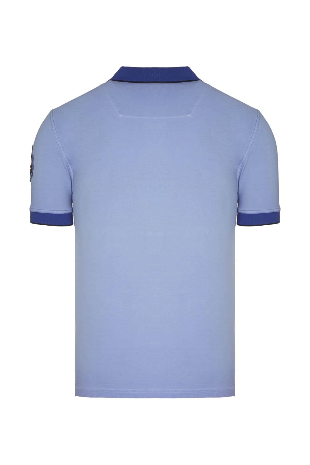 102°Gruppo Poloshirt mit Kontrastdetails 2