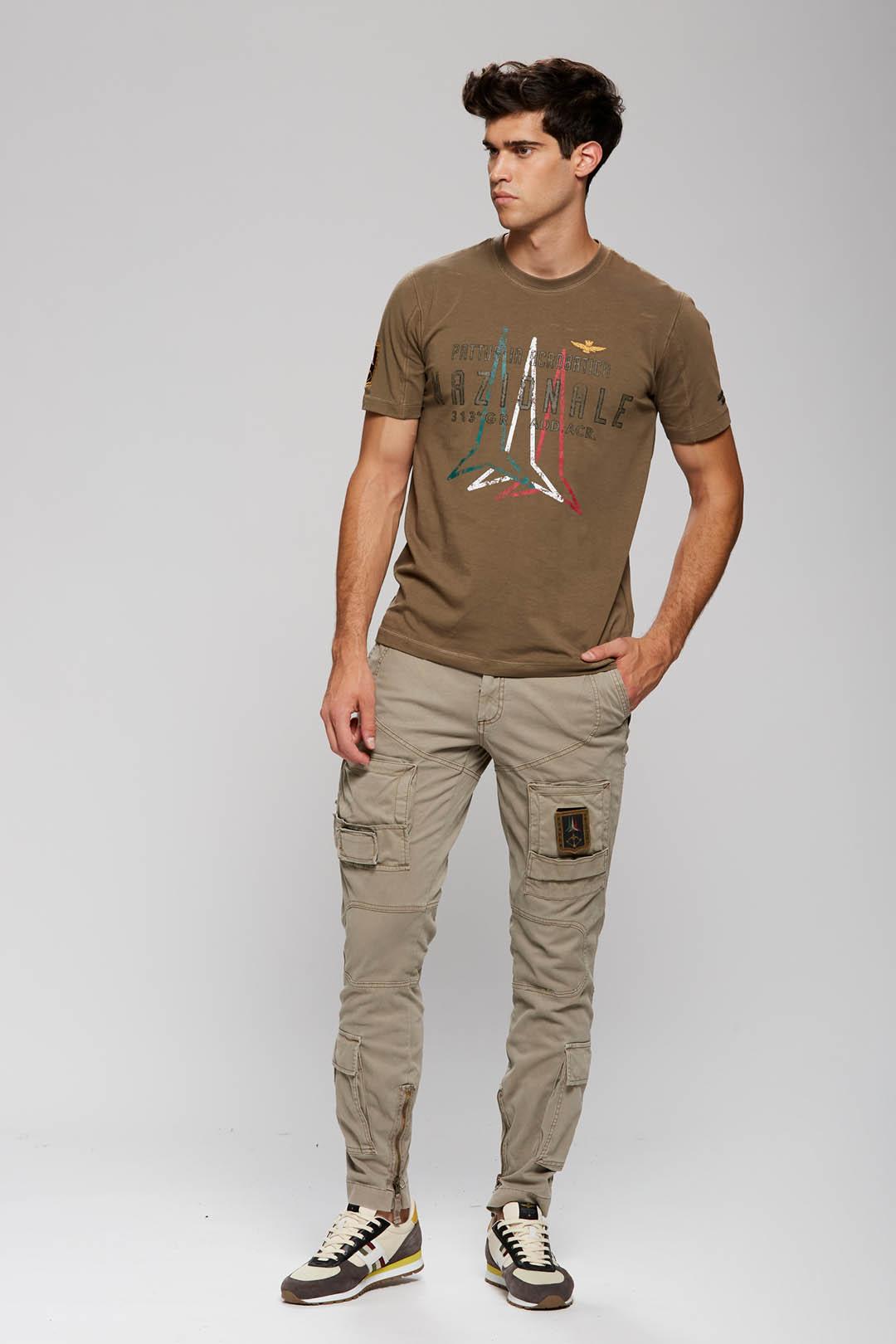 T-Shirt mit Frecce Tricolori Druck       4