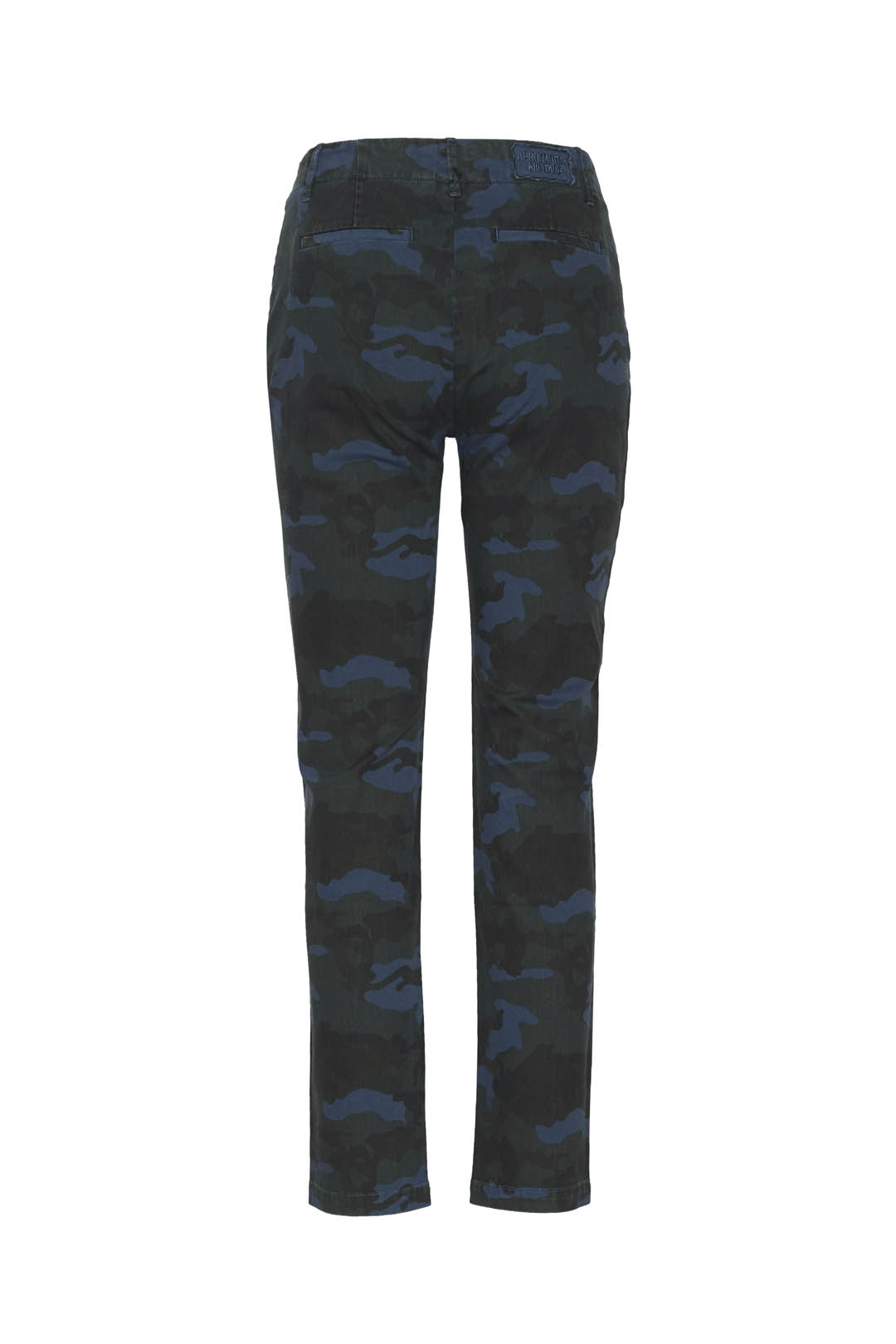 Camouflage gabardine chino trousers      2