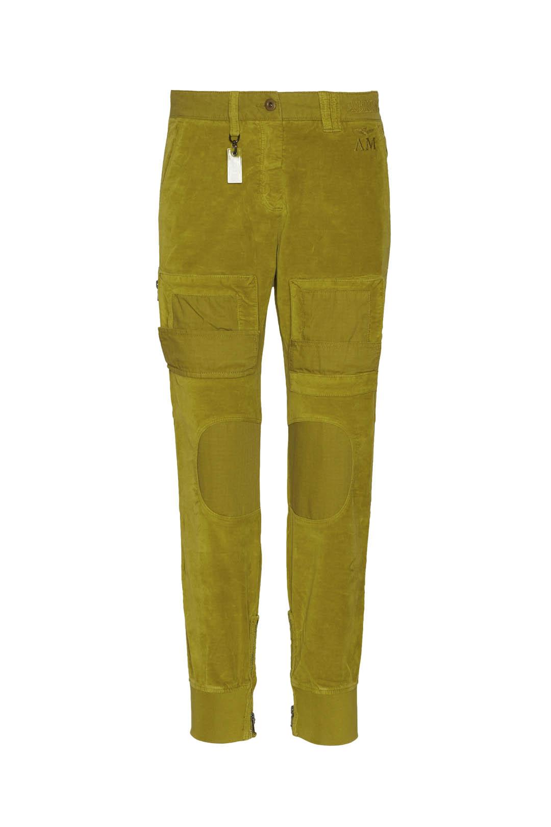 Pantalon Anti-G en velours et ripstop    1