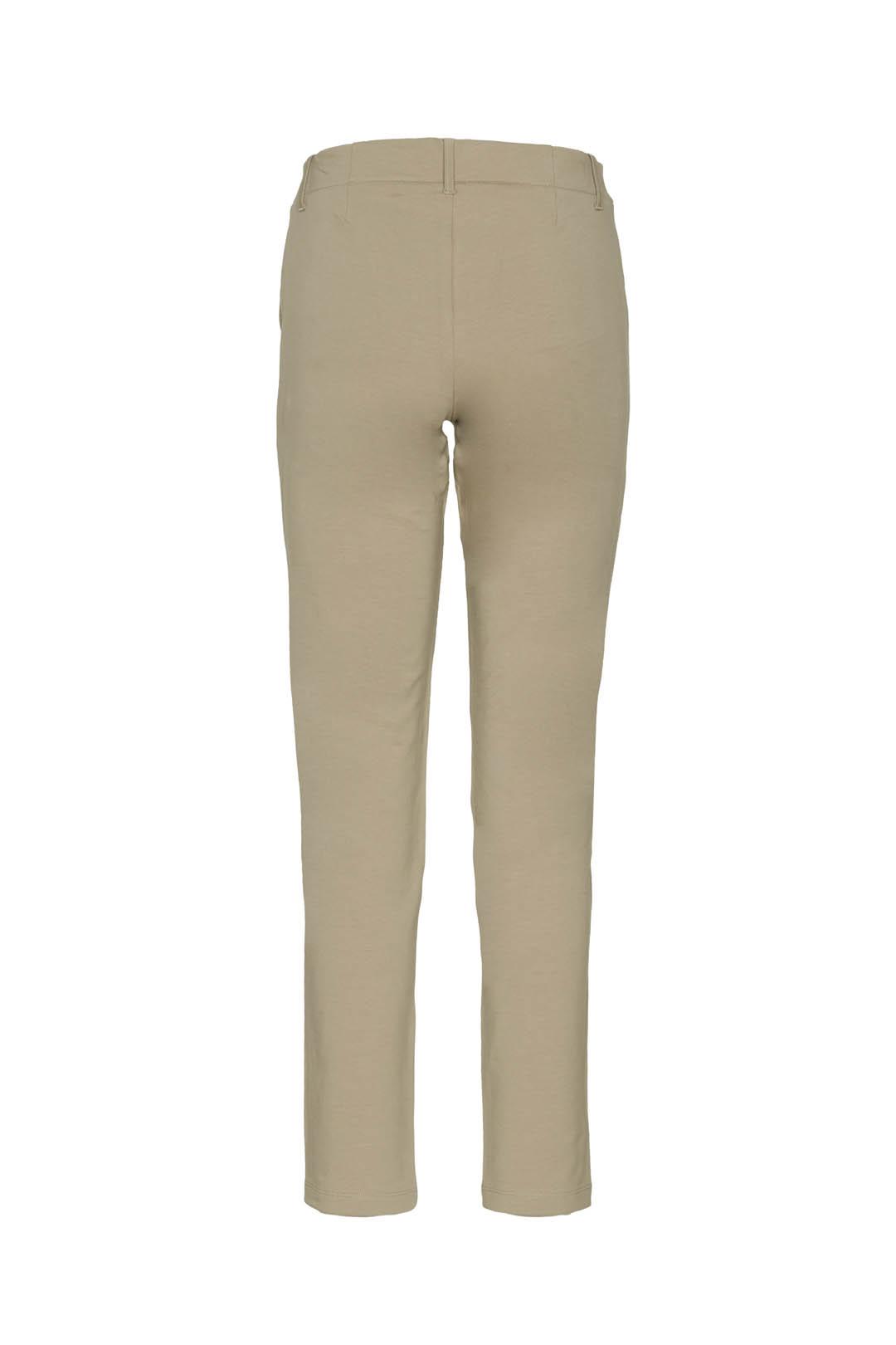 Stretch fleece cotton chino trousers     2