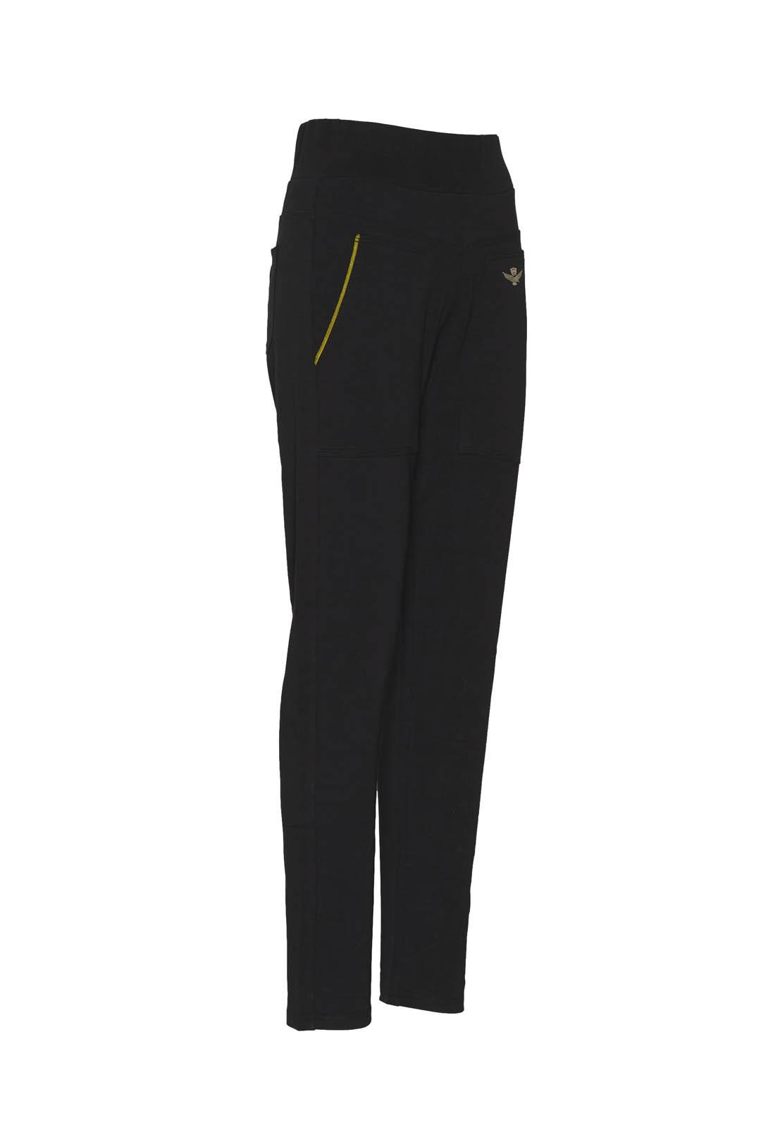 Stretch cotton high-waisted sweatpants   3