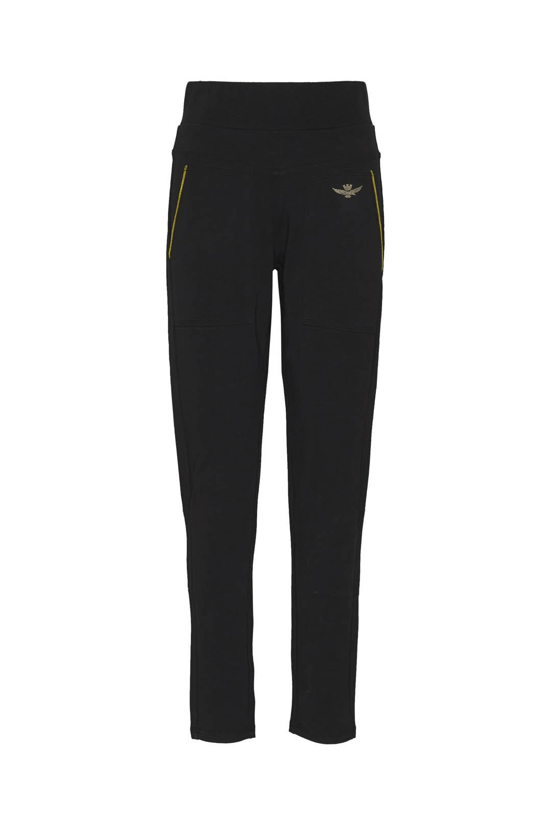 Stretch cotton high-waisted sweatpants   1