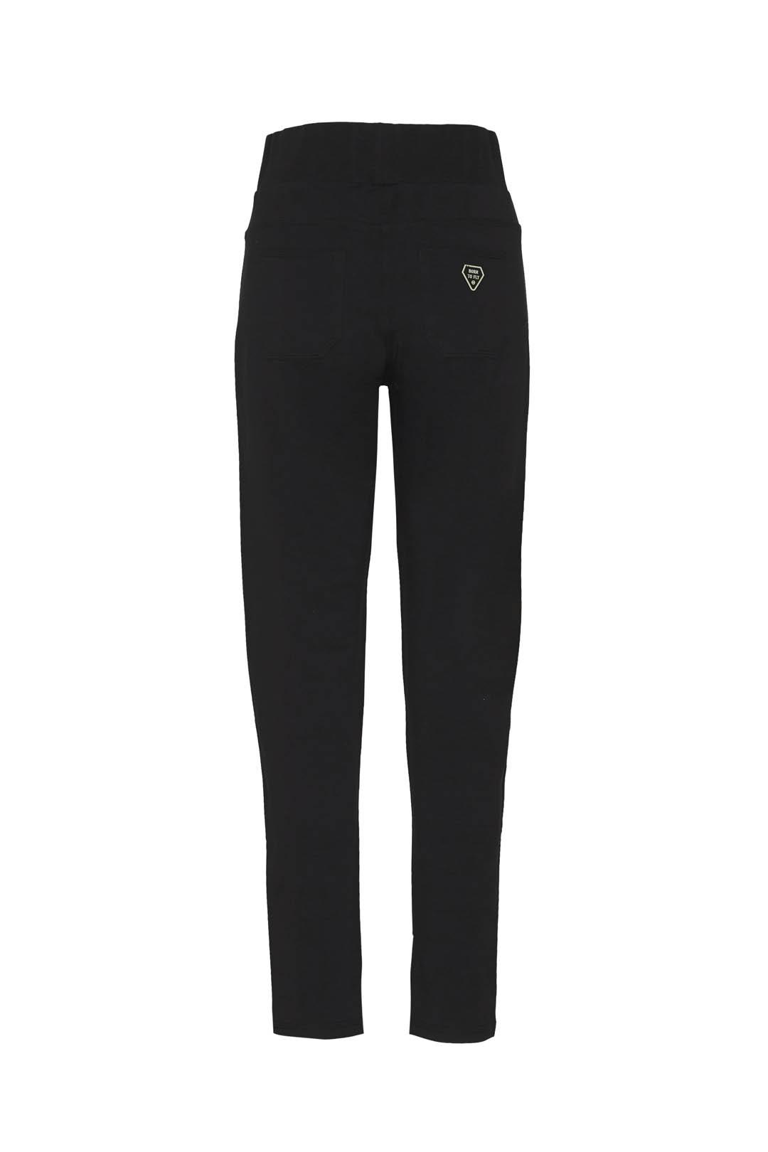 Stretch cotton high-waisted sweatpants   2