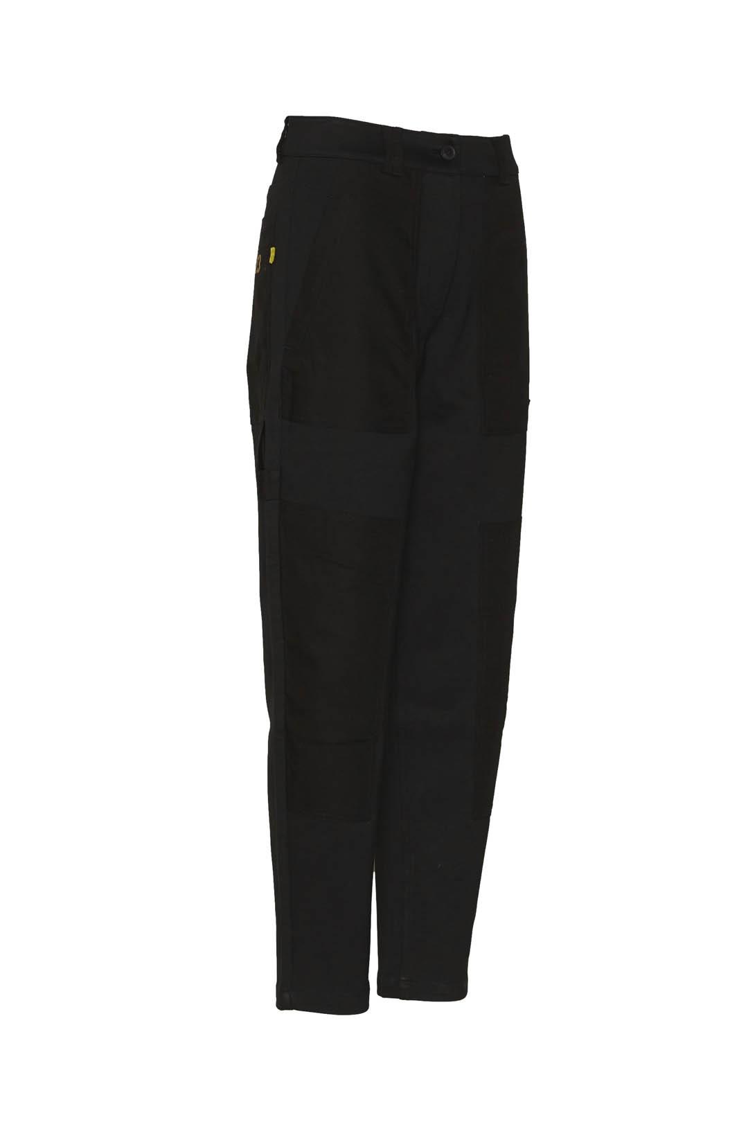 Pantalone in felpa punto milano          3