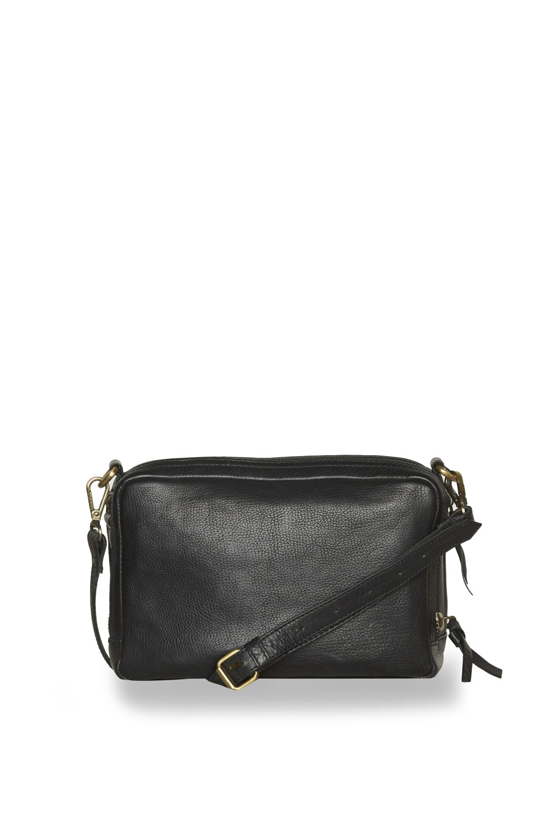 Woman leather bag with studded eagle     2