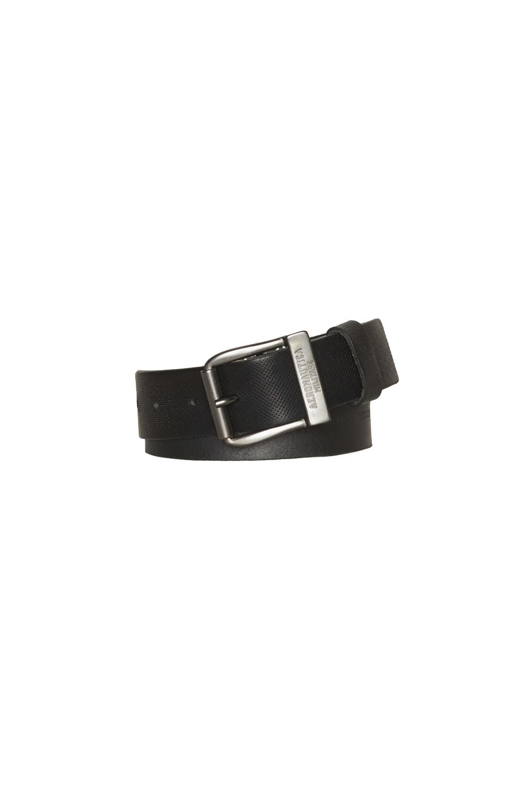 Cintura in pelle effetto bucherellato    1