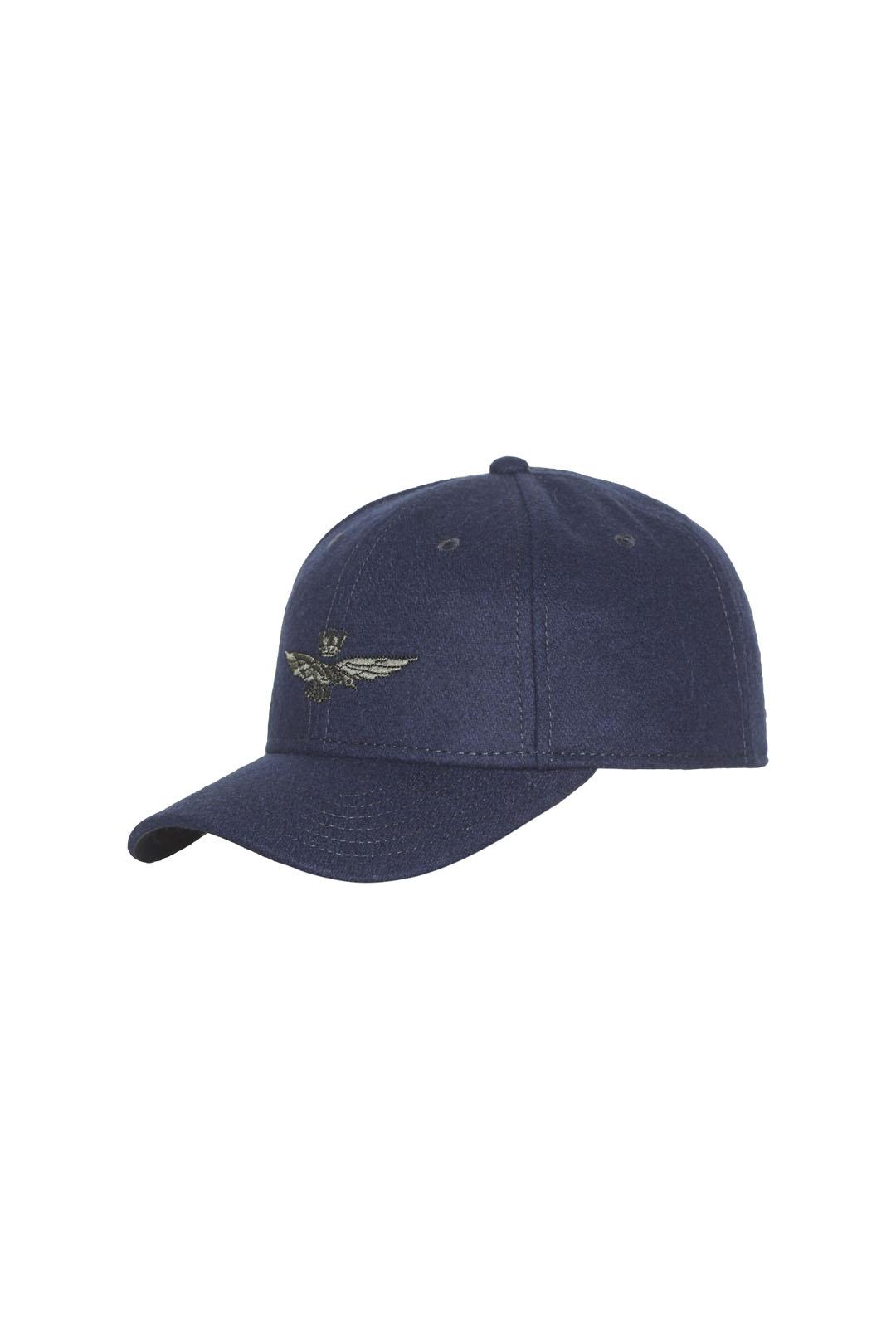Wool blend embroidered baseball cap      2