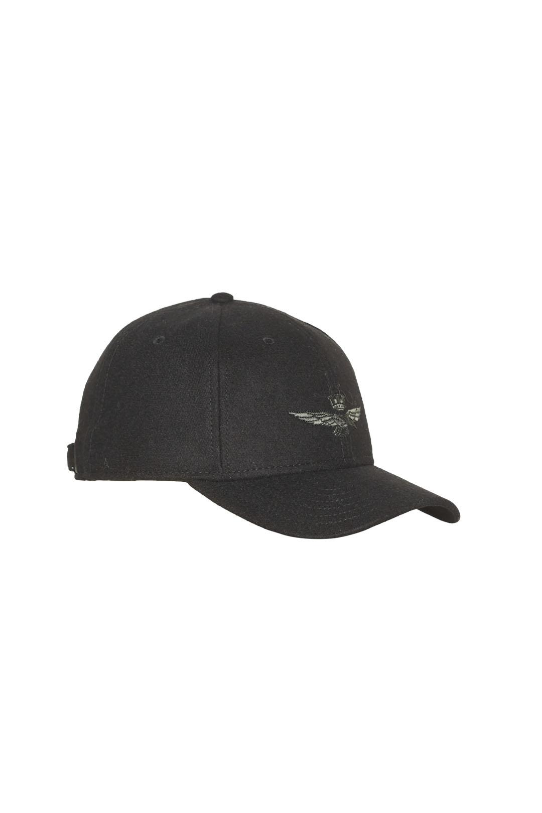 Hut aus Wolle und Polyester Mischung