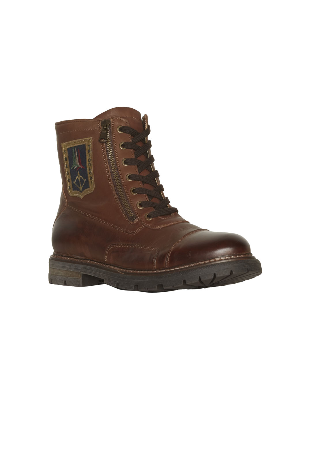 Iconic Pilot leather ankle boots         1