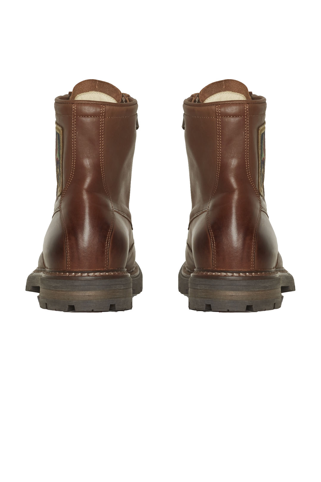 Iconic Pilot leather ankle boots         3