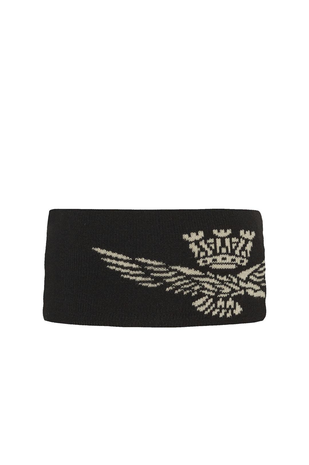 Women's headband with jacquard eagle     2