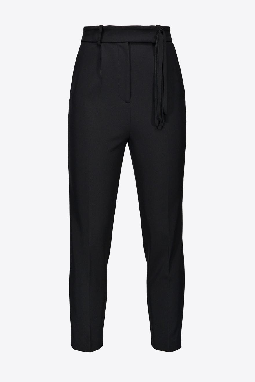 Pantalone Stabilire con dettaglio frange Pinko