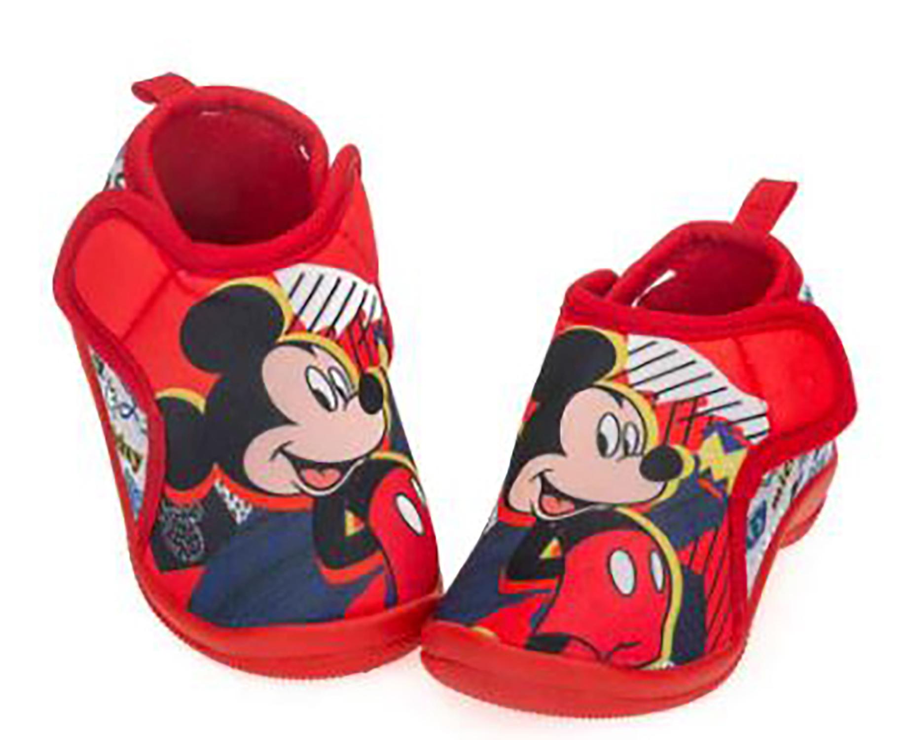 Pantofole Topolino chiuse dal 20 al 27 scarpine asilo