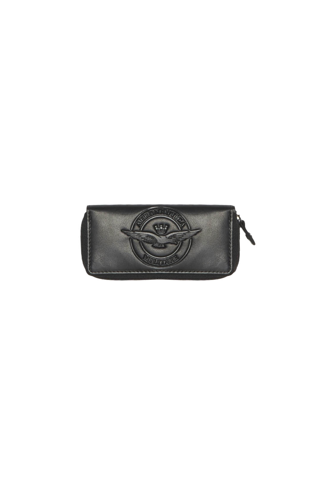 Zipped leather key pouch                 1