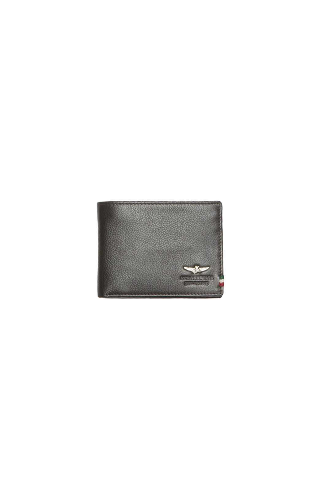 Leather wallet with eagle and tricolor   1