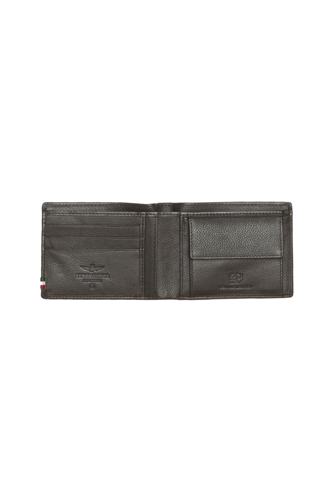 Leather wallet with eagle and tricolor   3
