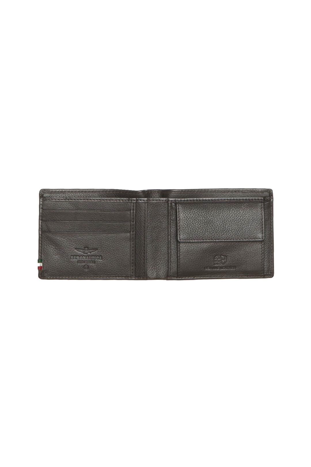 Leder Brieftasche mit Adler und Band     3