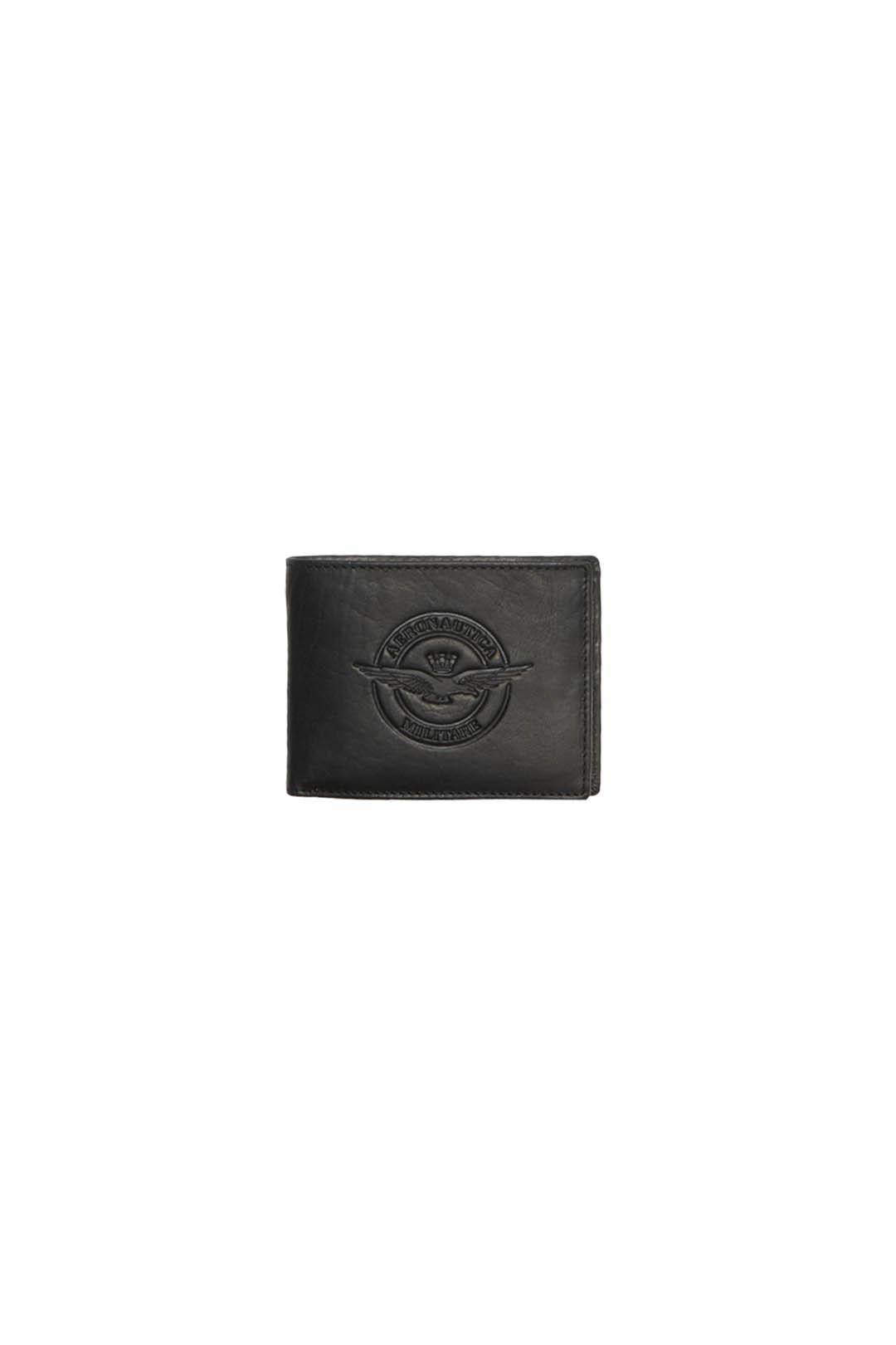 Leder Brieftasche mit AM Marke           1