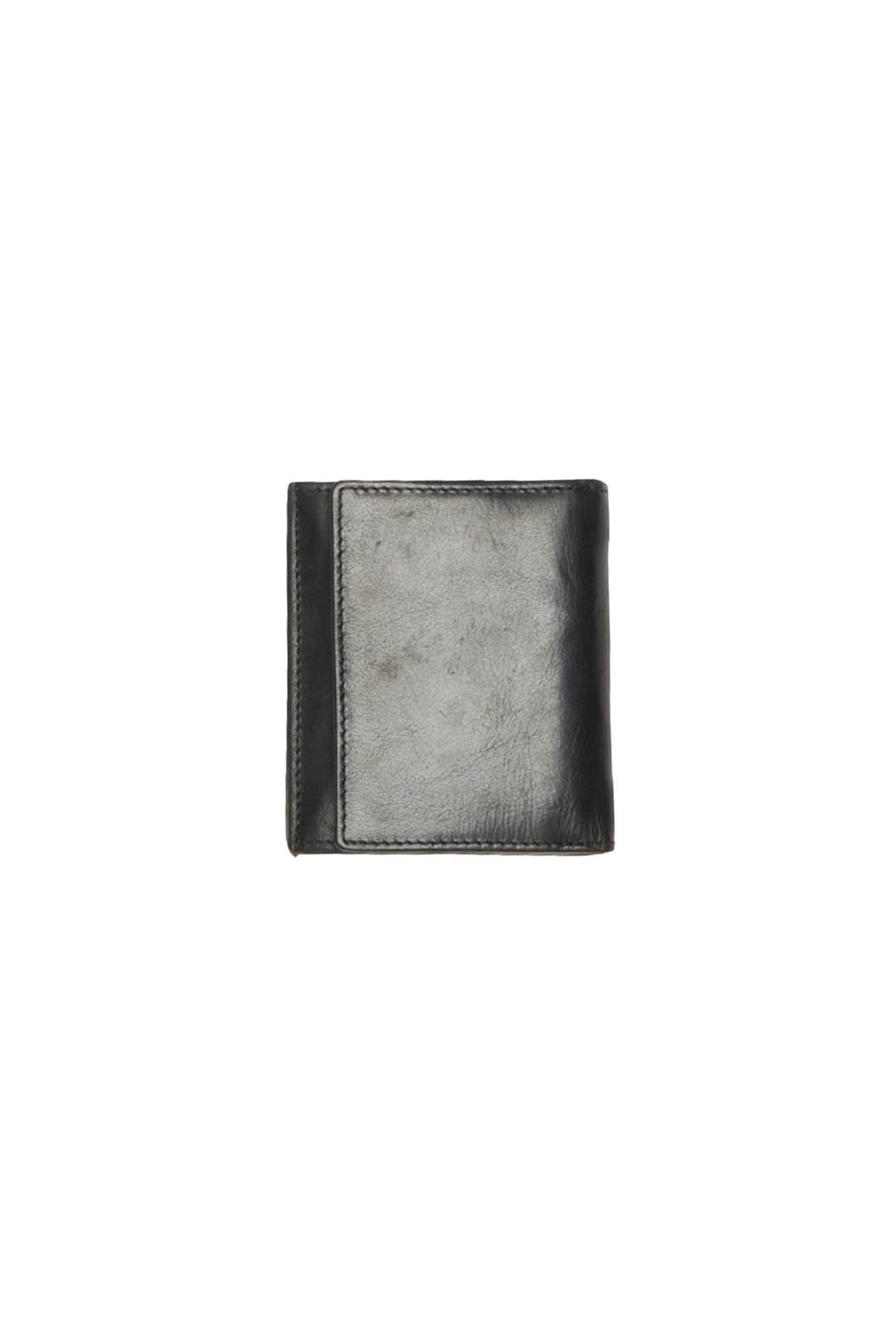Leather wallet with coin holder          2