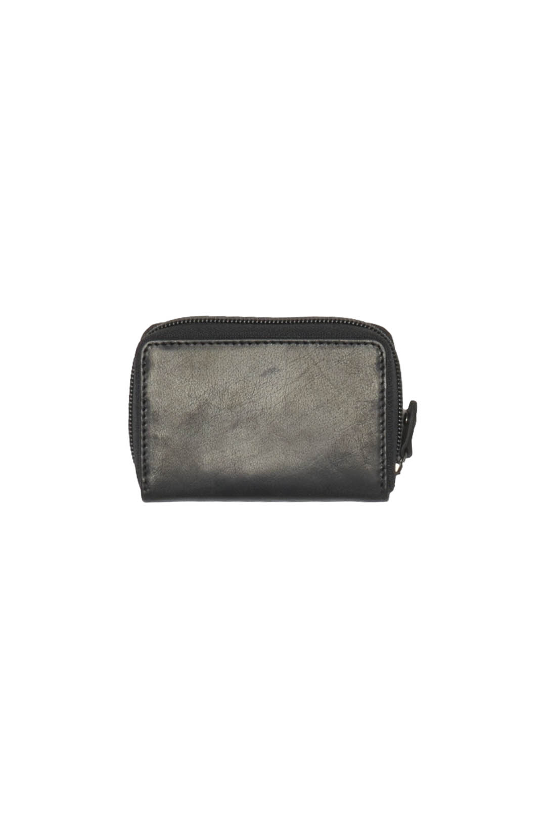 Gusseted leather card holder             2