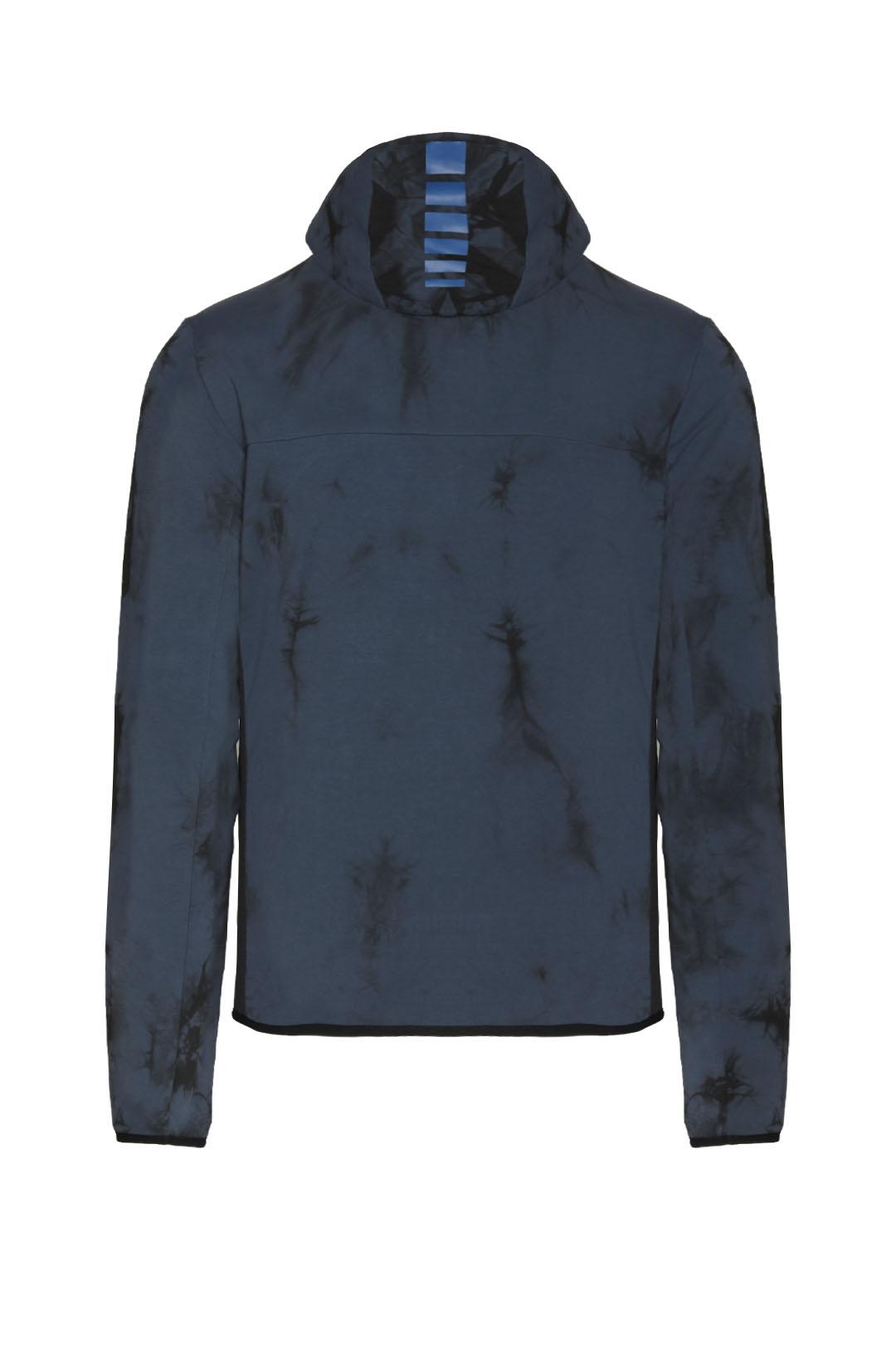 Stretch sweatshirt with a tie-dye effect 2