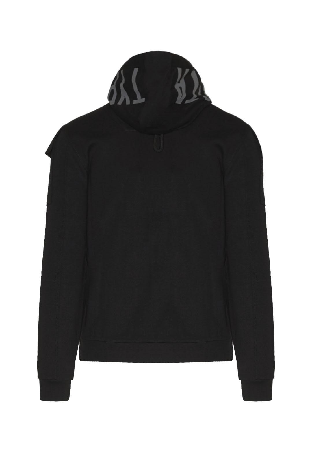 Sweatshirt interlock à capuche imprimée  2