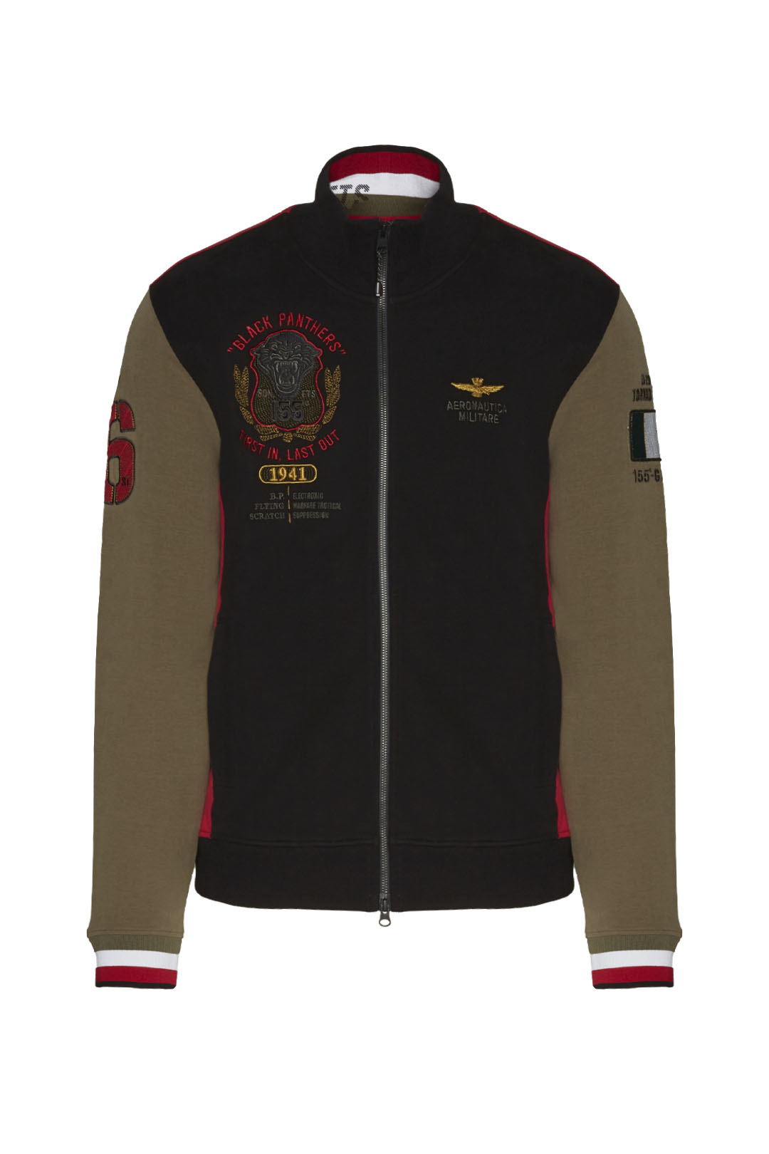 Sweatshirt 155° Gruppo Pantere Nere      1