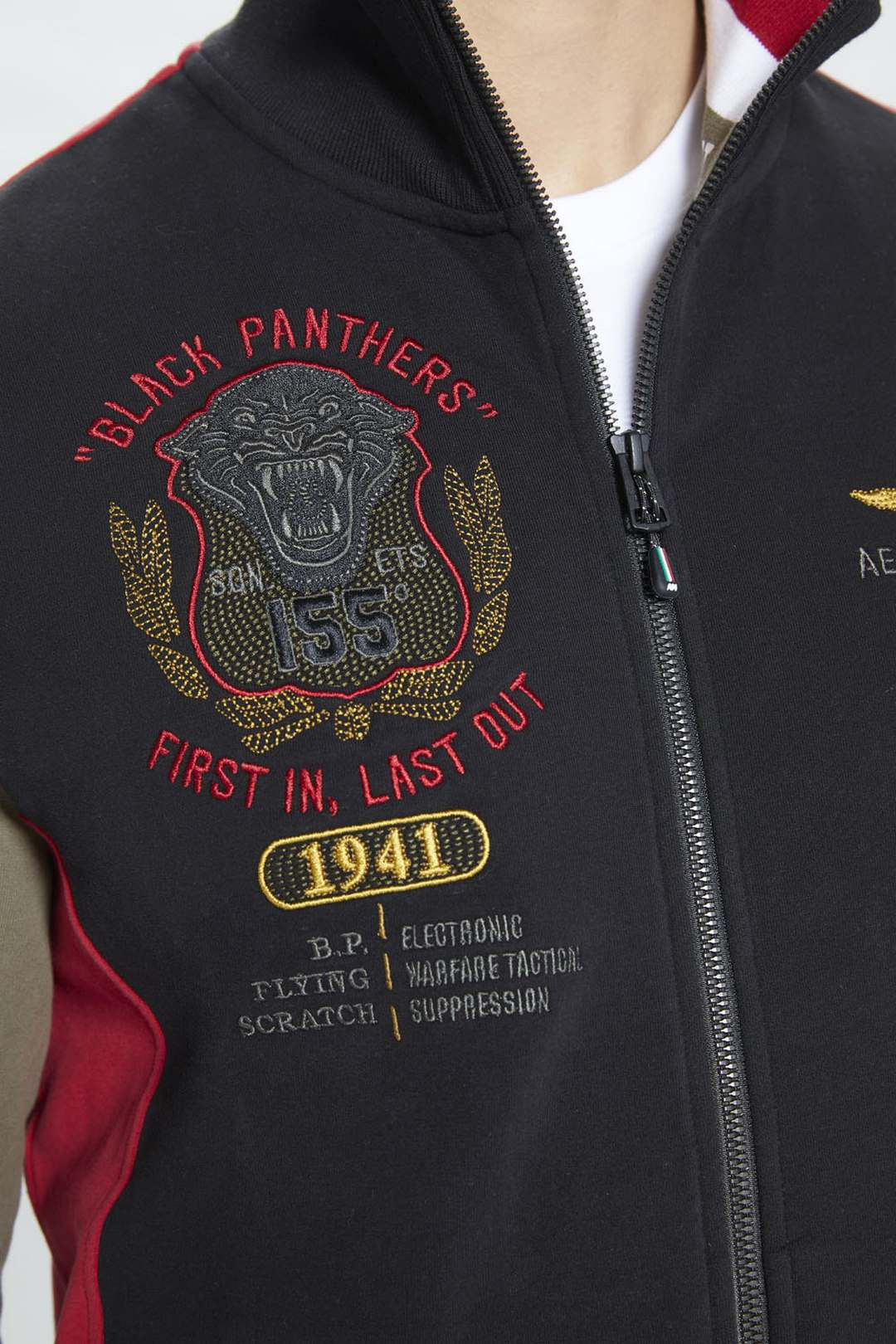 Sweatshirt 155° Gruppo Pantere Nere      5