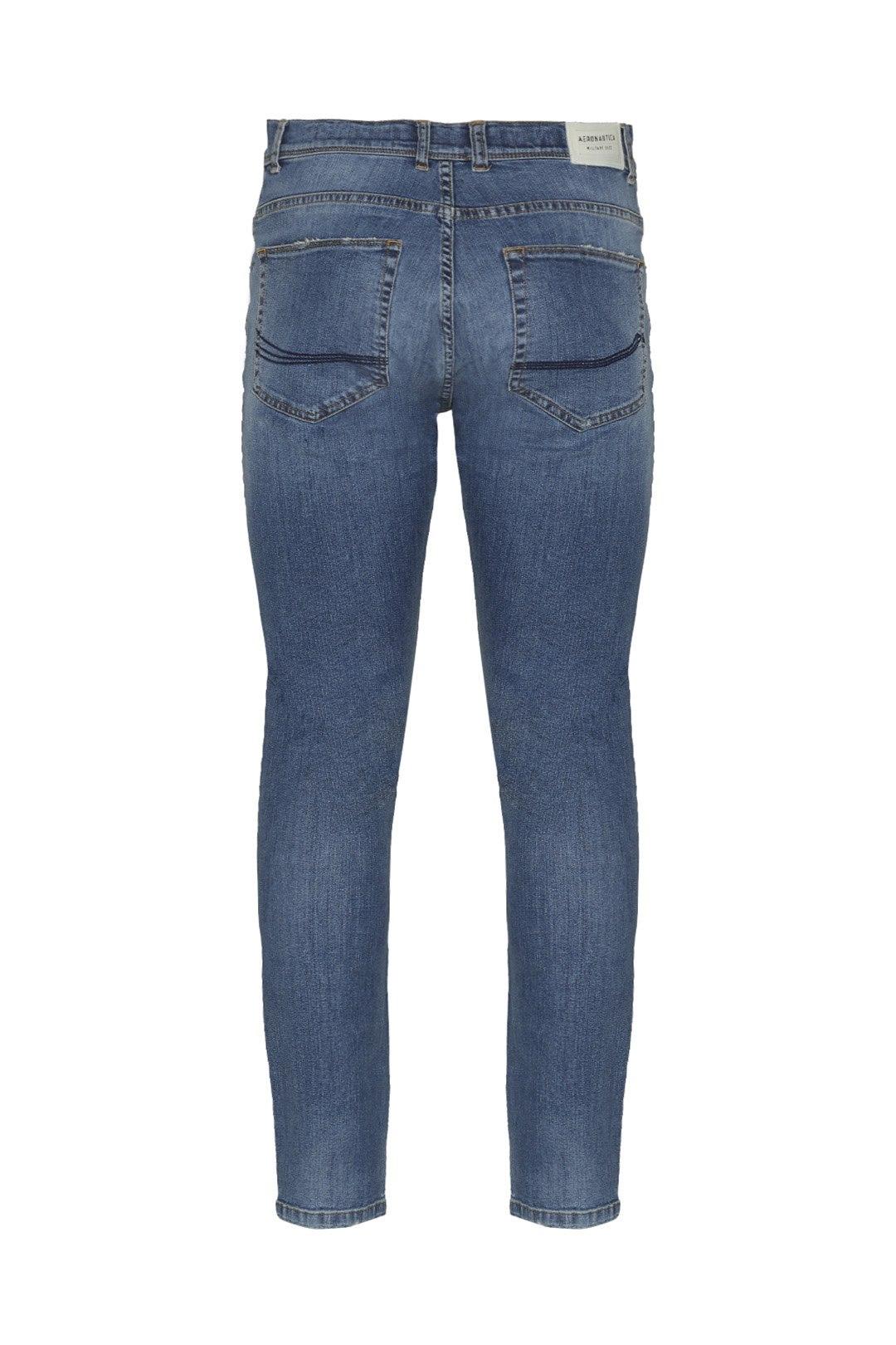 5-pockets denim trousers                 2