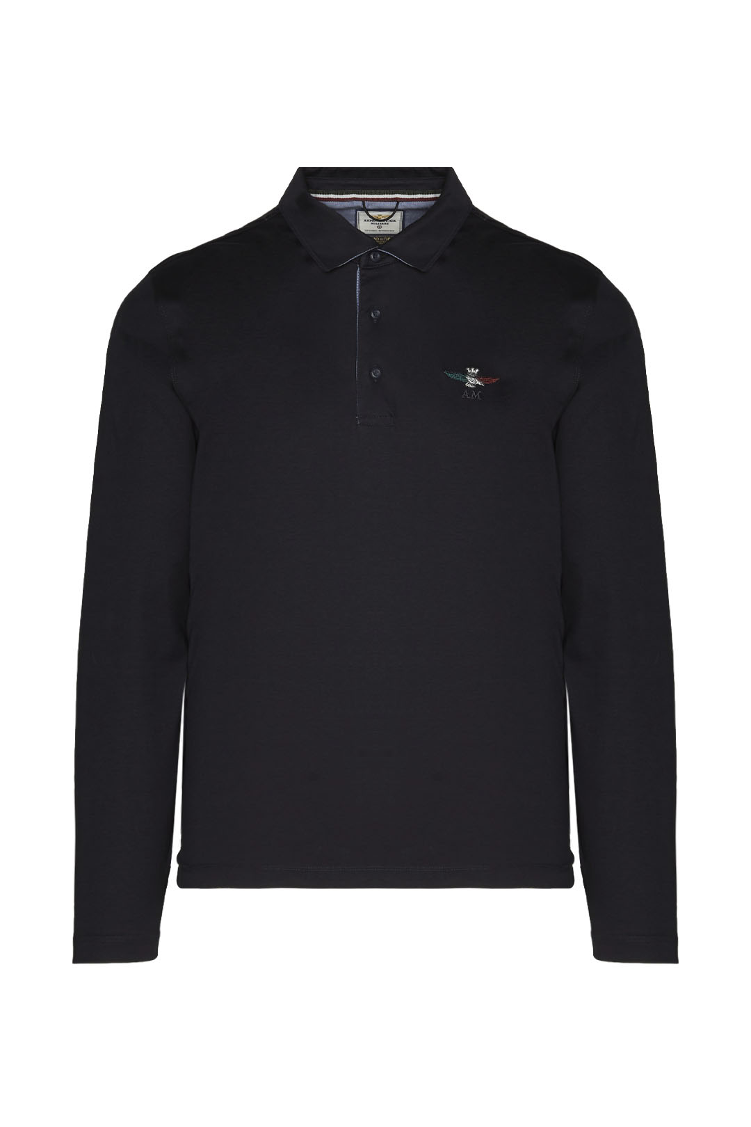 Polo shirt with tricolor eagle           1