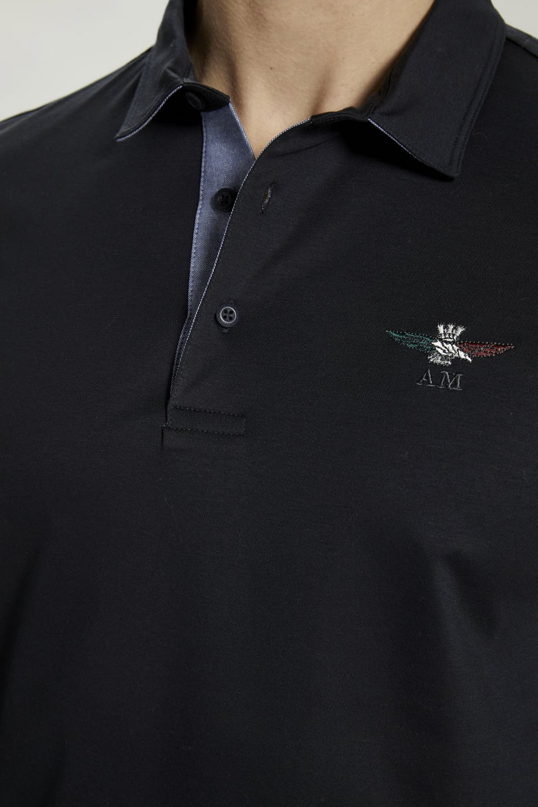 Polo shirt with tricolor eagle           5