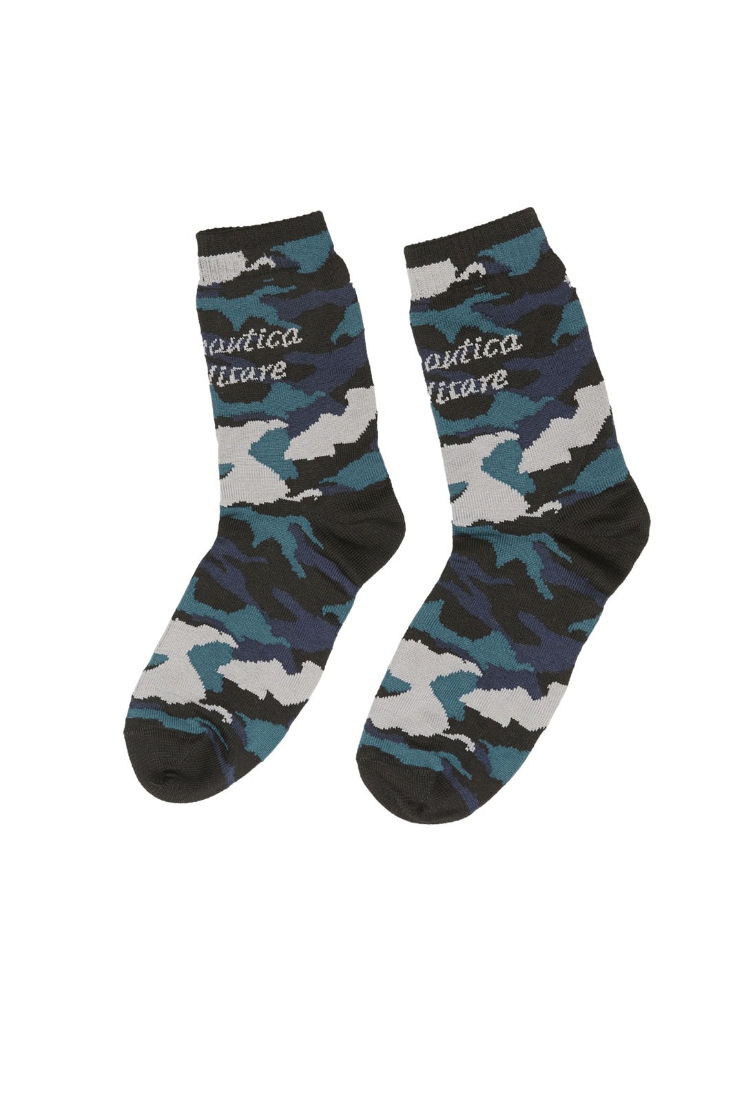 Women's socks with camouflage pattern    1