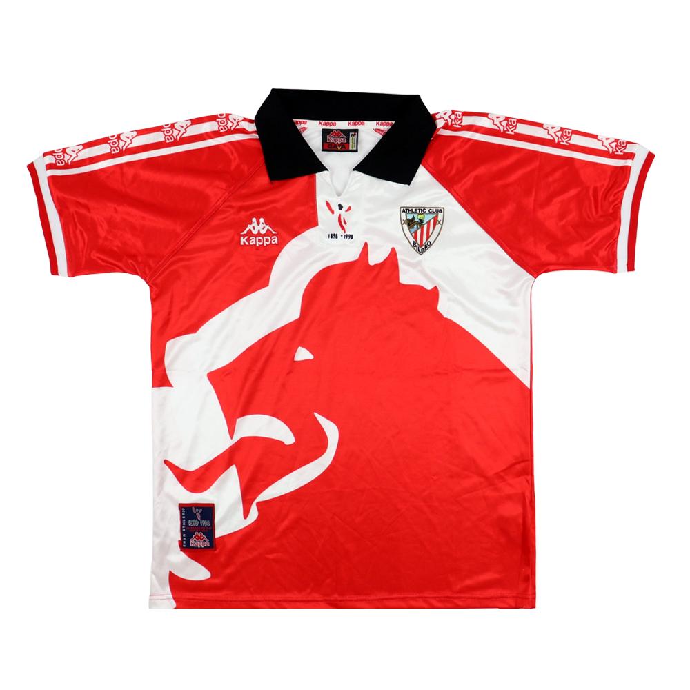 1997-98 Athletic Bilbao Maglia Kappa Centenario M (Top)
