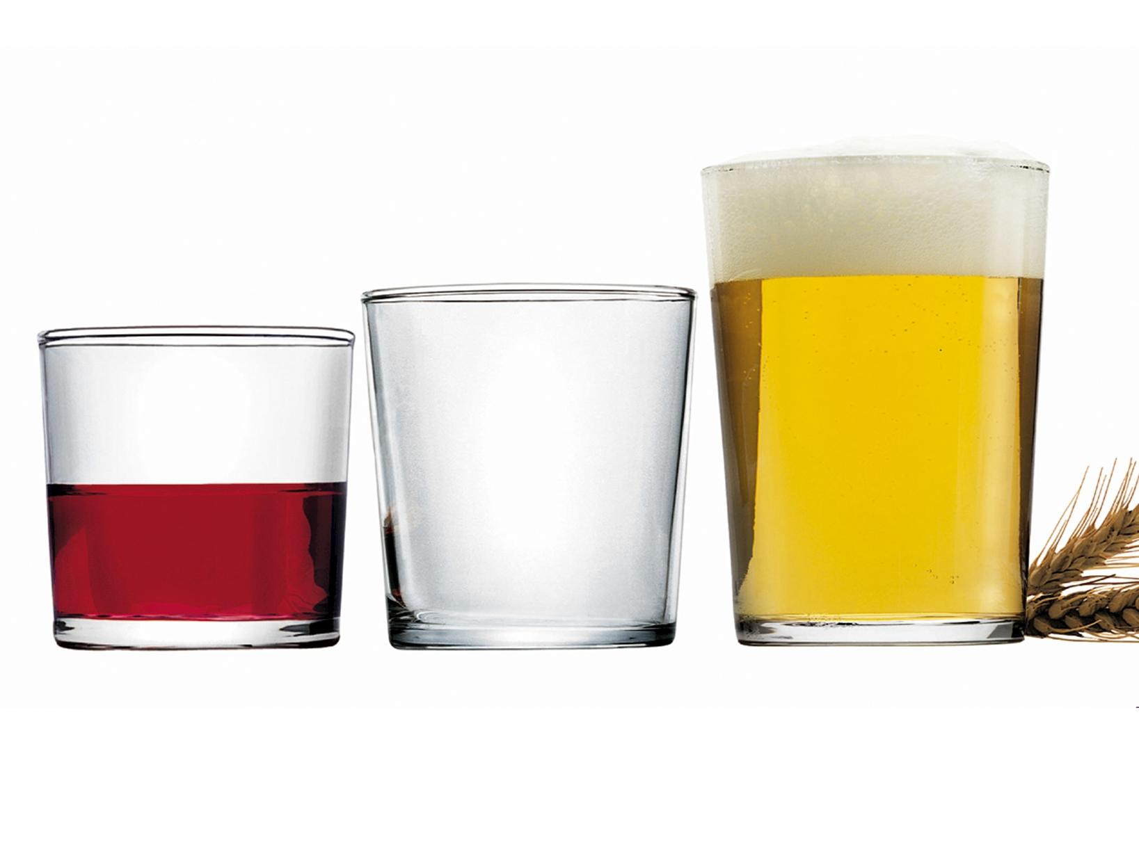 Scatola 12 Bicchieri In Vetro Bodega Medium 37