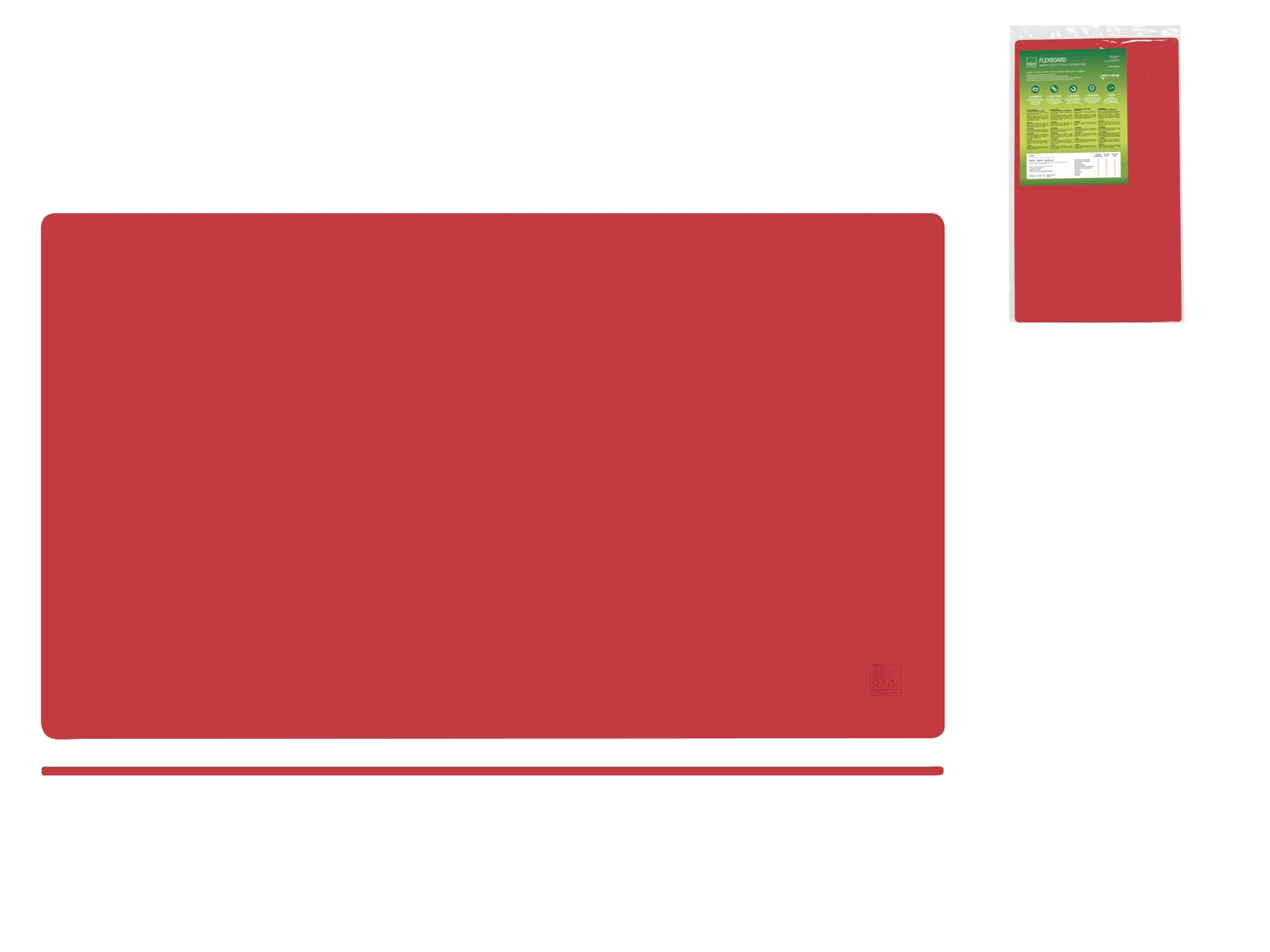 Tagliere Arthane Flex Ros 60x35x0,4